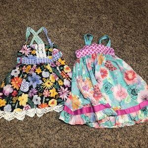 Set of 2 Matilda Jane summer dresses